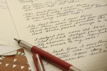 vintage handwriting 1